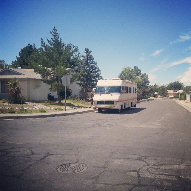 walter whites rv