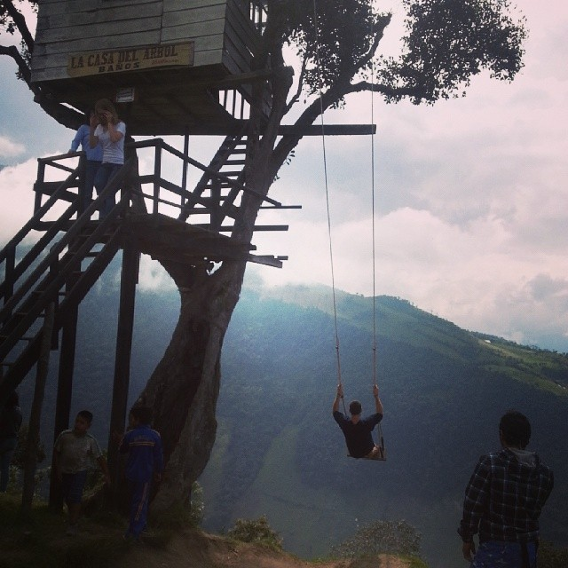 swing at the end of the world