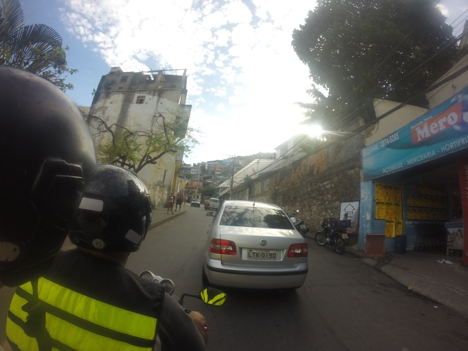 Moto Ride in the favela