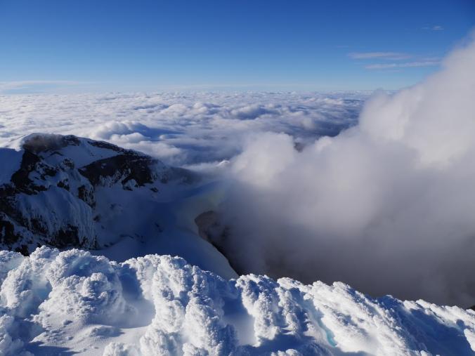 volcano Cotopaxi summit