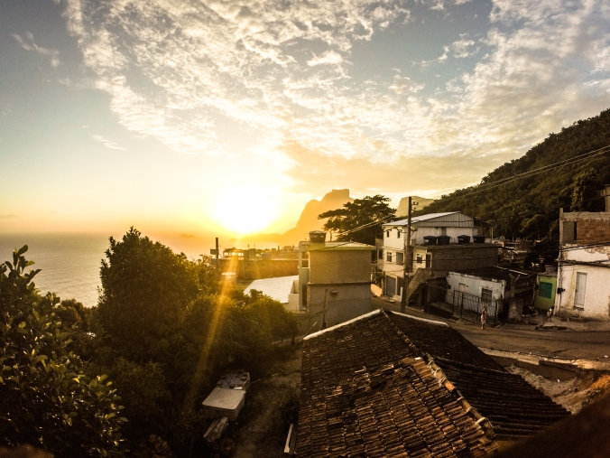 Favela Vidigal, Brazil